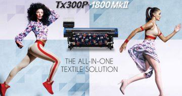 """Mimaki se vuelve """"híbrida"""" con la innovadora TX300P-1800 MkII image"""