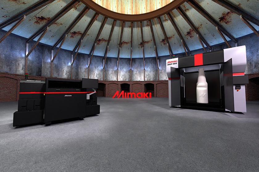 3D virtual booth
