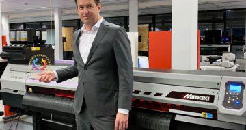 La Mimaki UJV100-160 premiada como la mejor impresora rotativa por EDP image